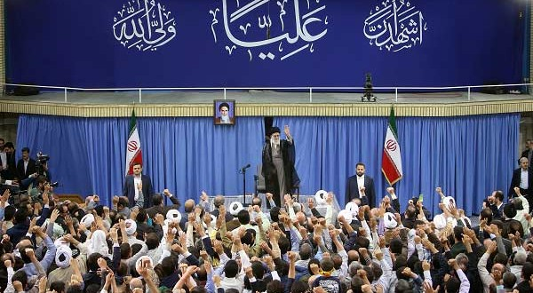 بیانات مقام معظم رهبری در دیدار هزاران نفر از قشرهای مختلف مردم