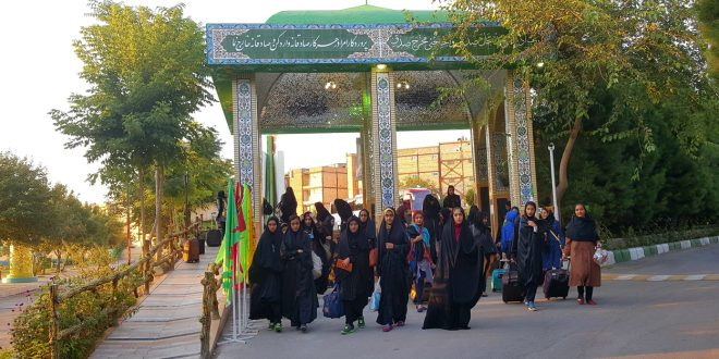 گزارش تصویری اردوی دانش آموزی دختران استان سیستان و بلوچستان به مشهد مقدس