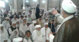 سخنرانی معاون نهادهای دینی نهاد نمایندگی مقام معظم رهبری در امور اهل سنت در مسجد جامع کریم آباد شهر زاهدان