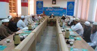 کارگاه آموزشی تربیت مبلغین دینی و تقریبی در نهاد نمایندگی مقام معظم رهبری در امور اهل سنت استان برگزار گردید