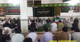 جلسه حل اختلاف سه تیره نوابی ، حیدرزهی و فولادی از طایفه بزرگ بامری در شهرستان دلگان برگزار شد